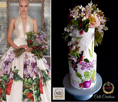 Couture Cakers International - Cake by Calli Creations