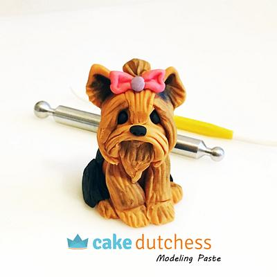 Yorkshire Terrier - Cake by Etty