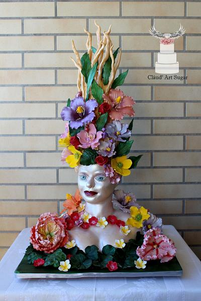 In the Arms of Beauty - Sugar Myths and Fantasies Global Edition - Cake by Cláud' Art Sugar