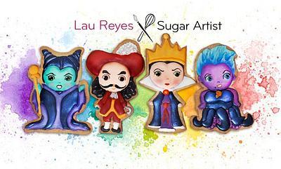 Disneys Vilians - Cake by Laura Reyes