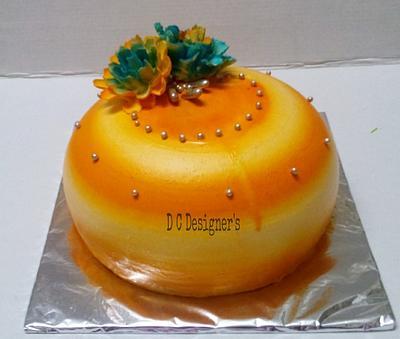 indo western cake - Cake by Divya chheda