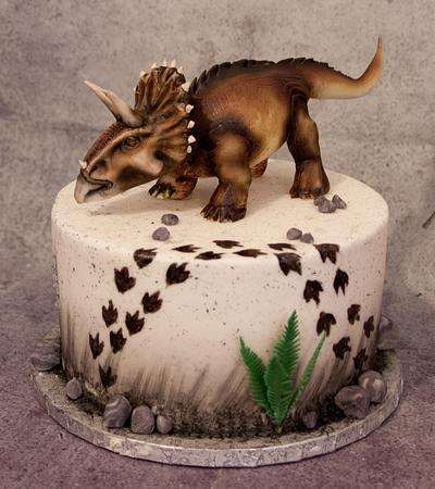 Triceratops cake - Cake by Kejky