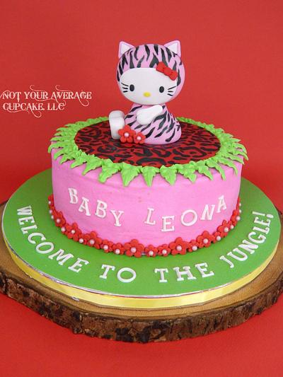 Welcome to the Kitty Jungle, Baby! - Cake by Sharon A./Not Your Average Cupcake