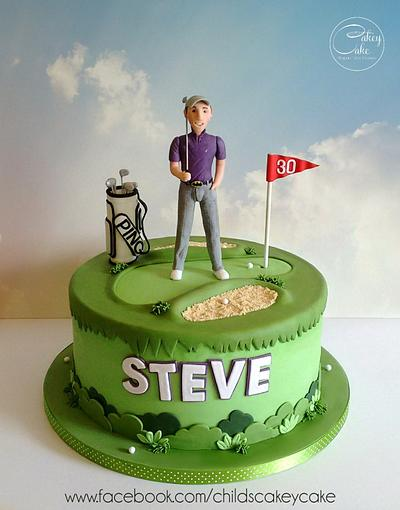 Fore! - Cake by CakeyCake