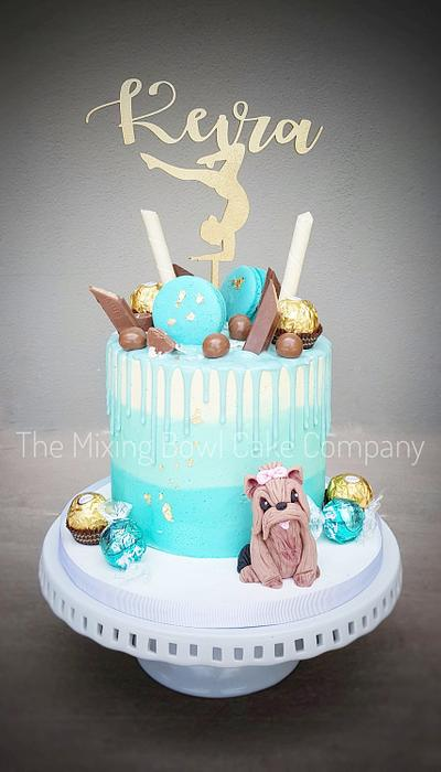 Ombre drip! - Cake by The Mixing Bowl Cake Company