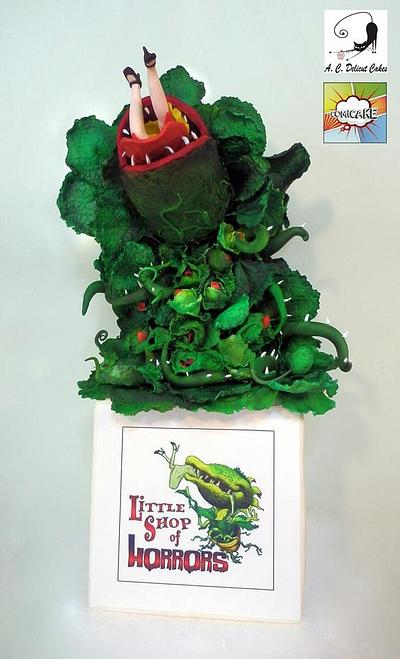 The little Shop of Horrors - COMICAKE COLLABORATION - Cake by Artym
