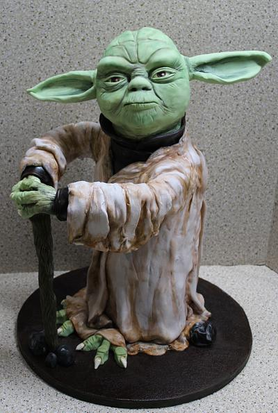Yoda - Cake by Kim
