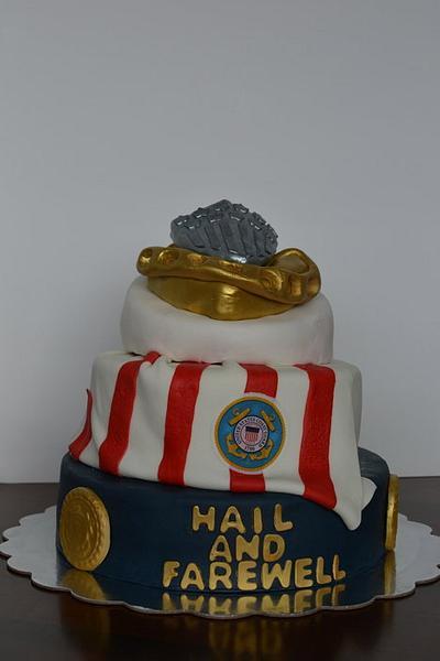 CG Chief's Hail & Farewell Cake - Cake by CrystalMemories