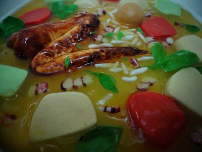 Chicken Soup Cake - Cake by Paladarte El Salvador