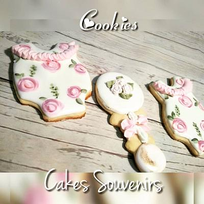 Cookies baby Shower - Cake by Claudia Smichowski
