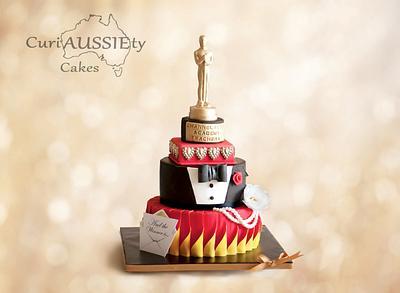 """Oscar Awards"" theme cake - Cake by CuriAUSSIEty  Cakes"