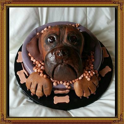 "Happy Birthday Chris & Megan...Miss Laya Cake - Cake by June (""Clarky's Cakes"")"