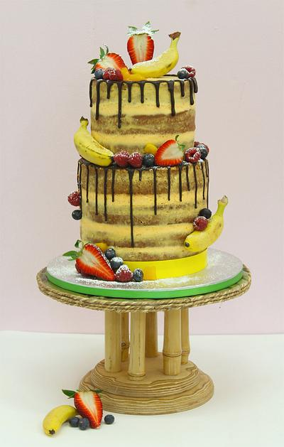 """""""Exotic Love"""" - Cake by Betty's Bakery (molecular sensations)"""