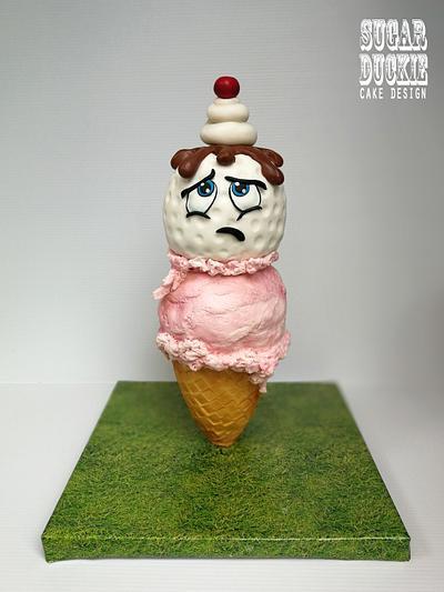 Golf Ball in Disguise - Cake by Sugar Duckie (Maria McDonald)