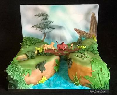 Hakuna Matata - Cake by Julie Cain