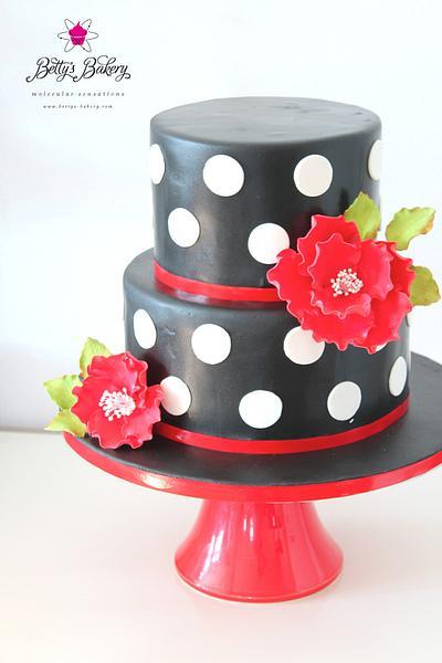 """Rockabilly"" - Cake by Betty's Bakery (molecular sensations)"