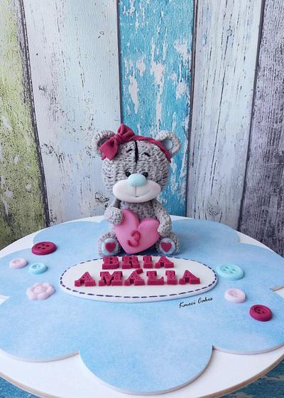 Teddy Bear - Cake by Kmeci Cakes