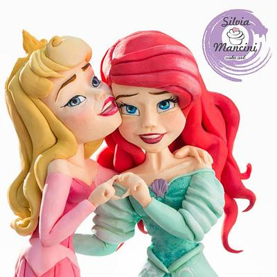 PRINCESSES BEST FRIENDS  - Cake by Silvia Mancini Cake Art