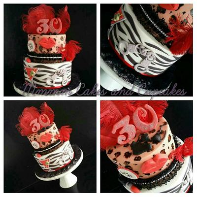 Dirty 30! - Cake by Mmmm cakes and cupcakes