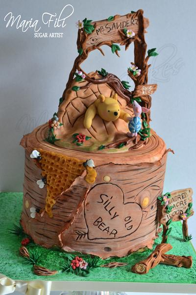Silly old Bear... - Cake by Marias-cakes