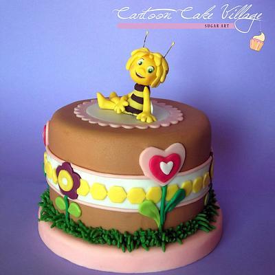 Maya the bee - Cake by Eliana Cardone - Cartoon Cake Village