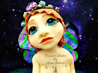 Myths and Fantasy Collab Ambrial Fairy - Cake by Designer Cakes by Anna Garcia
