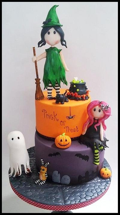 Trick or Treat  - Cake by Time for Tiffin