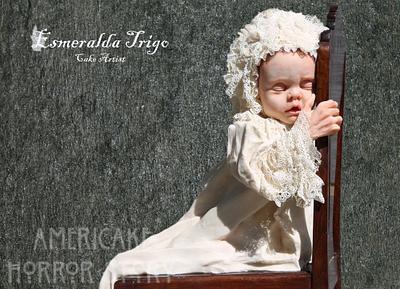 Baby American Horror Story collab - Cake by Esmeralda trigo