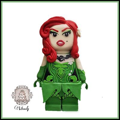 Poison Ivy - little people Big Ideas Collaboration - Cake by Wendy