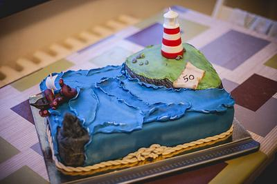 at the edge of the world.. - Cake by lia.minou