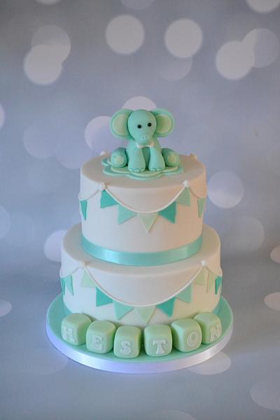 Elephant cake - Cake by Enchantedcupcakes