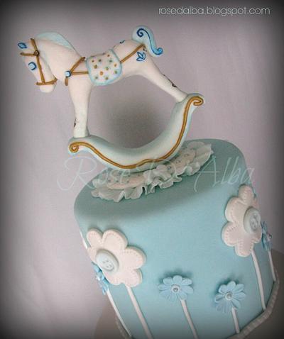 Rocking horse cake - Cake by Rose D' Alba cake designer