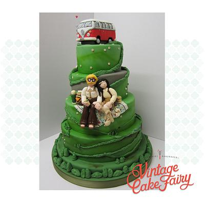 Summer of '69...Cake International 2014 - Cake by Vintage Cake Fairy