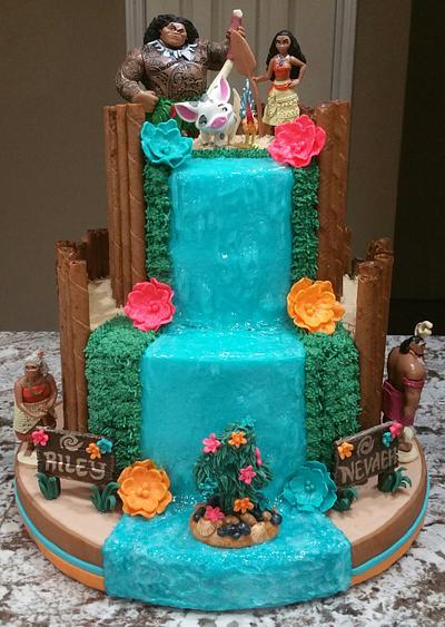 """Moana"" Birthday Cake - Cake by eiciedoesitcakes"