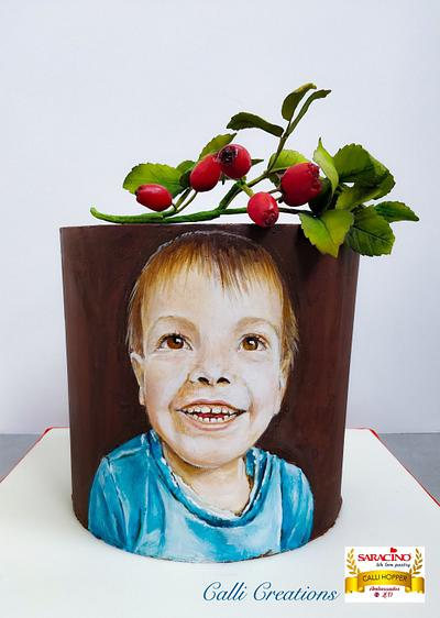 Beau Portrait Cake - Cake by Calli Creations