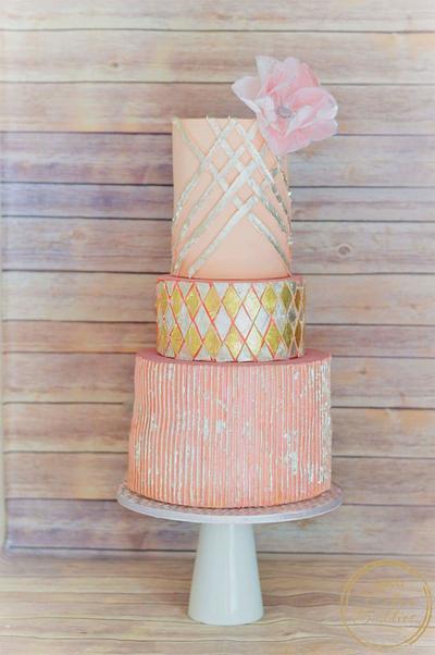 Silver sunshine - Cake by pooja1612