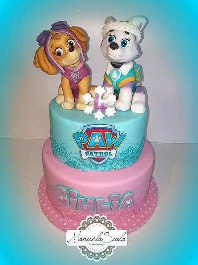 Paw Patrol cake - Cake by manuela scala