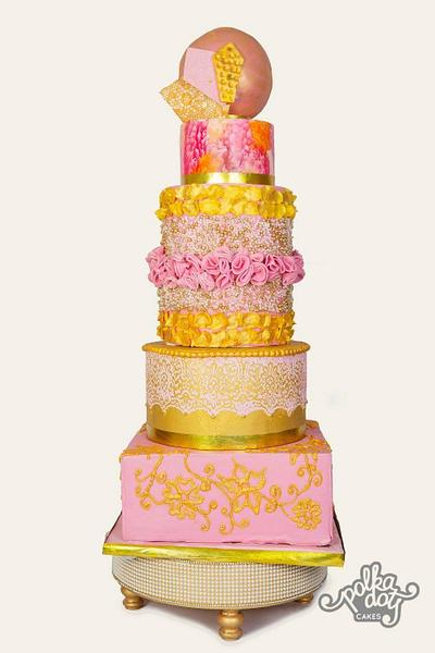 Wedding cake - Cake by Cakecastle