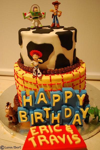 Toy Story Cake! - Cake by Loren Ebert