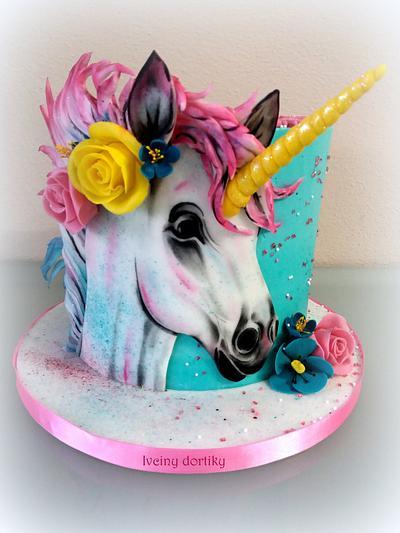 unicorn - Cake by Ivciny dortiky