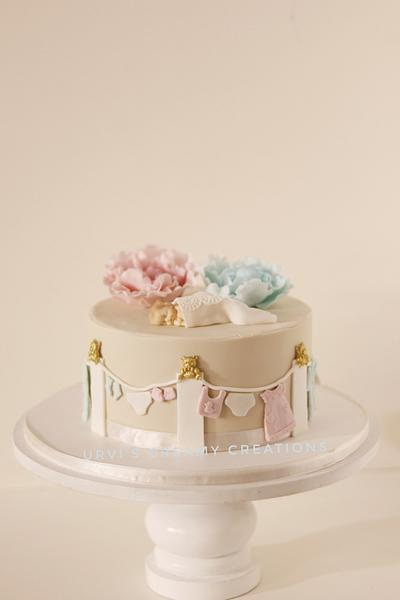 Baby Shower  - Cake by Urvi Zaveri