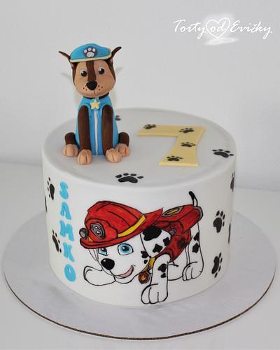 Paw patrol - Cake by Cakes by Evička