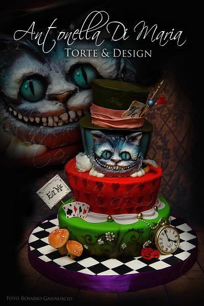Wonderland 1 - Cake by Antonella Di Maria