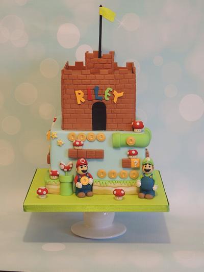Mario & Luigi Cake - Cake by Shereen