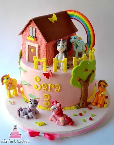 My Little Pony cake - Cake by Nataša