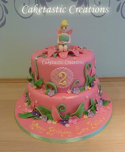 Tinkerbelle Birthday Cake - Cake by Caketastic Creations
