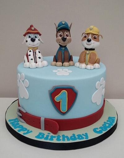 Paw Patrol - Cake by The Buttercream Pantry