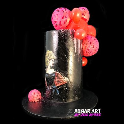 CPCs Grease Collaboration - Sandy's Squeeze - Cake by Zoe Byres