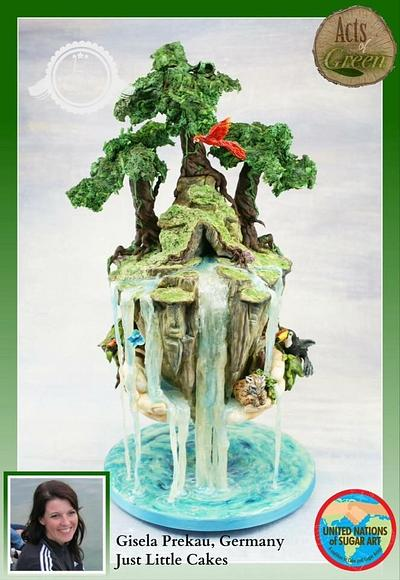 Acts of Green Collaboration  - Cake by Justlittlecakes - Gisi Prekau