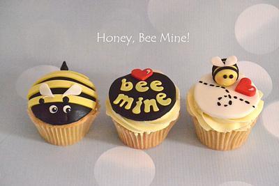 Bee Mine! - Cake by Enchantedcupcakes